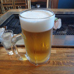 炉ばた ちどり - 生ビール 大