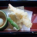 四季彩 - 花車御膳(天ぷら)