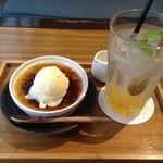 翠cafe - この組み合わせが結構合うのです♪