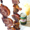 ブラジル - 料理写真:ブラジル料理と言えばシュラスコ!牛肉・豚肉・鶏肉を串に刺して提供します!テーブルへ運んだ時、お客様が必ず言う一言は「デカイ」!!