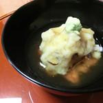 和楽 - <9月夜>煮物、蓮蒸し、鯛と穴子