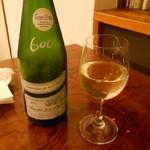 ル・プチワゾー - グラスワイン白