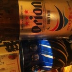 垣花家 - オリオンビール!