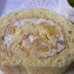 桂のさと - ロールケーキアップ