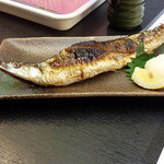 21605154 - 秋刀魚塩焼き