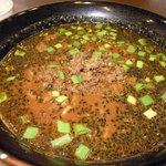 胡麻唐屋 - 黒胡麻坦々麺(\780)