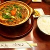 きしめん あまの - 料理写真:牡蠣入り 味噌煮込うどん & ご飯