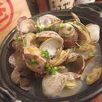 魚鮮水産株式会社 - あさりバター@380円