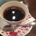 泉のテラス - ホットコーヒー(¥450)