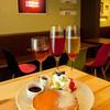 カフェスタジオ@シズオカ - 料理写真:定番のフルーツパンケーキ