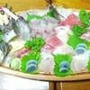 温泉民宿 うるしや - 料理写真:夕食 舟盛り