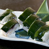 炉端かば - 料理写真:今が旬のサバとシャリの見事な調和が絶妙な『サバの押し寿司』