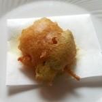ツカサ - アップ 海老 えんどう豆