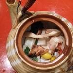 鮨丸 - 松茸の土瓶蒸し