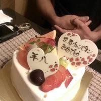 記念日のケーキ持込どうぞ!