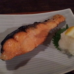 21654806 - 鮭塩焼き