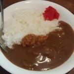 シマシマトム - セットの牛スジカレー