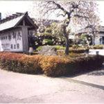 柳内 - 外から撮った写真です(春頃)。