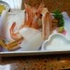 久兵衛 - 料理写真:カニ刺し&甘エビ&イカ