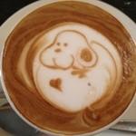 THE CAFE - 可愛いから飲むのがもったいない♪♪