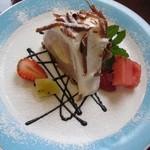 レストラン仏区里屋 - 本日のケーキ