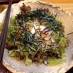 旬味 井筒 - 和風サラダ420円