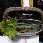 Mikadoya - 料理写真:鮎酒:焼いた鮎がそのまま入っています。