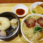 福龍菜館 - 飲茶セット