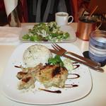 ゴリラキッチン - 2013年9月23日(月)日替わりランチを食べました。