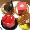 ル・グ・メルヴェイユ - 料理写真:ケーキ4種