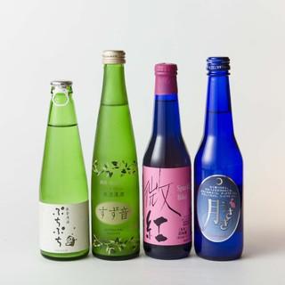 厳選された和酒をお楽しみください。
