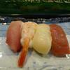よし膳 - 料理写真:ぶり、えび、ホタテ、赤身