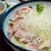 銀座木屋 - 料理写真:豚しゃぶうどん