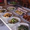 みちくさ能勢 - 料理写真:前菜、サラダのビュッフェスタイル
