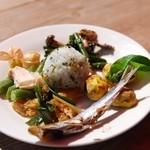 みちくさ能勢 - お惣菜(自分のお皿に)