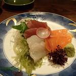 北の味紀行と地酒 北海道 - お刺身