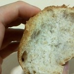自家製酵母パン WAKU - ライ麦・プレーン 断面