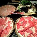 小尾羊 - お肉と野菜