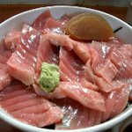 吉原大門蕎麦自然薯 - ランチの鉄火丼