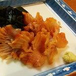 吉原大門蕎麦自然薯 - 赤貝