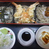 中清 - 料理写真:小えび天付三味そば