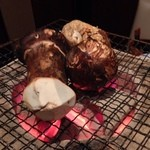 舞桜 - 松茸1本焼き炭火焼
