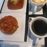 カフェ Mランド - パンセット500円に、私のコーヒ