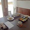 わん楽 - 料理写真:朝食のテーブル