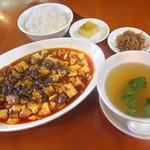 21790116 - 「麻婆豆腐定食」 1,000円