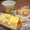 ヌーベルマリー - 料理写真:ハムエッグパン、クルミパン