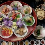海の花 - 数量限定 八色丼1800円