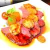 神戸創作Dining 縁 - 料理写真:自家製ローストビーフ 鴨フォアグラのせ