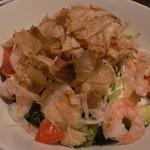 俺のもつ鍋とハンバーグの店 キセキ - アボカドと海老のマヨサラダ