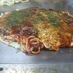 大蔵屋 - そば肉玉シングル(510円)